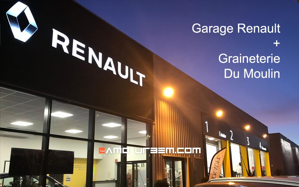Garage renault graineterie amo urbem agence d - Garage du moulin plessier rozainvillers ...